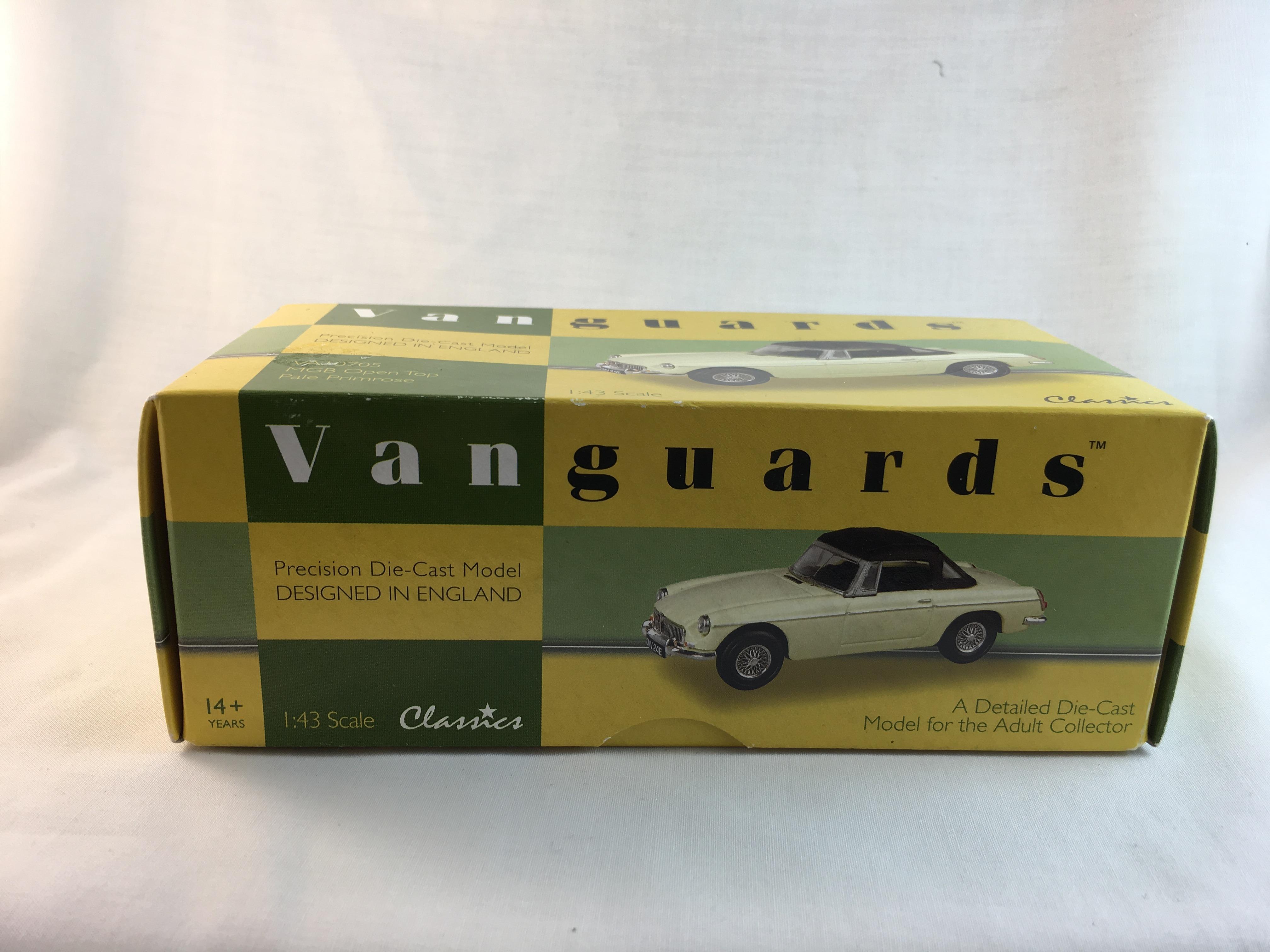 Vanguards Classics-MGB Open Top Pale Primrose
