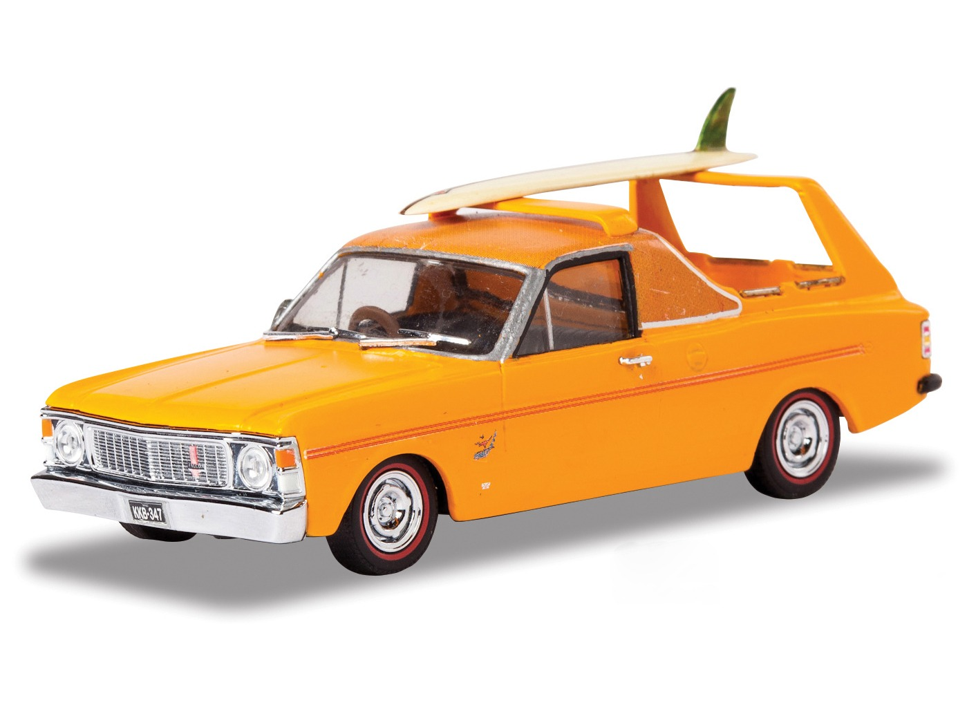 1969 Ford XW SurferRoo  – Bright Orange