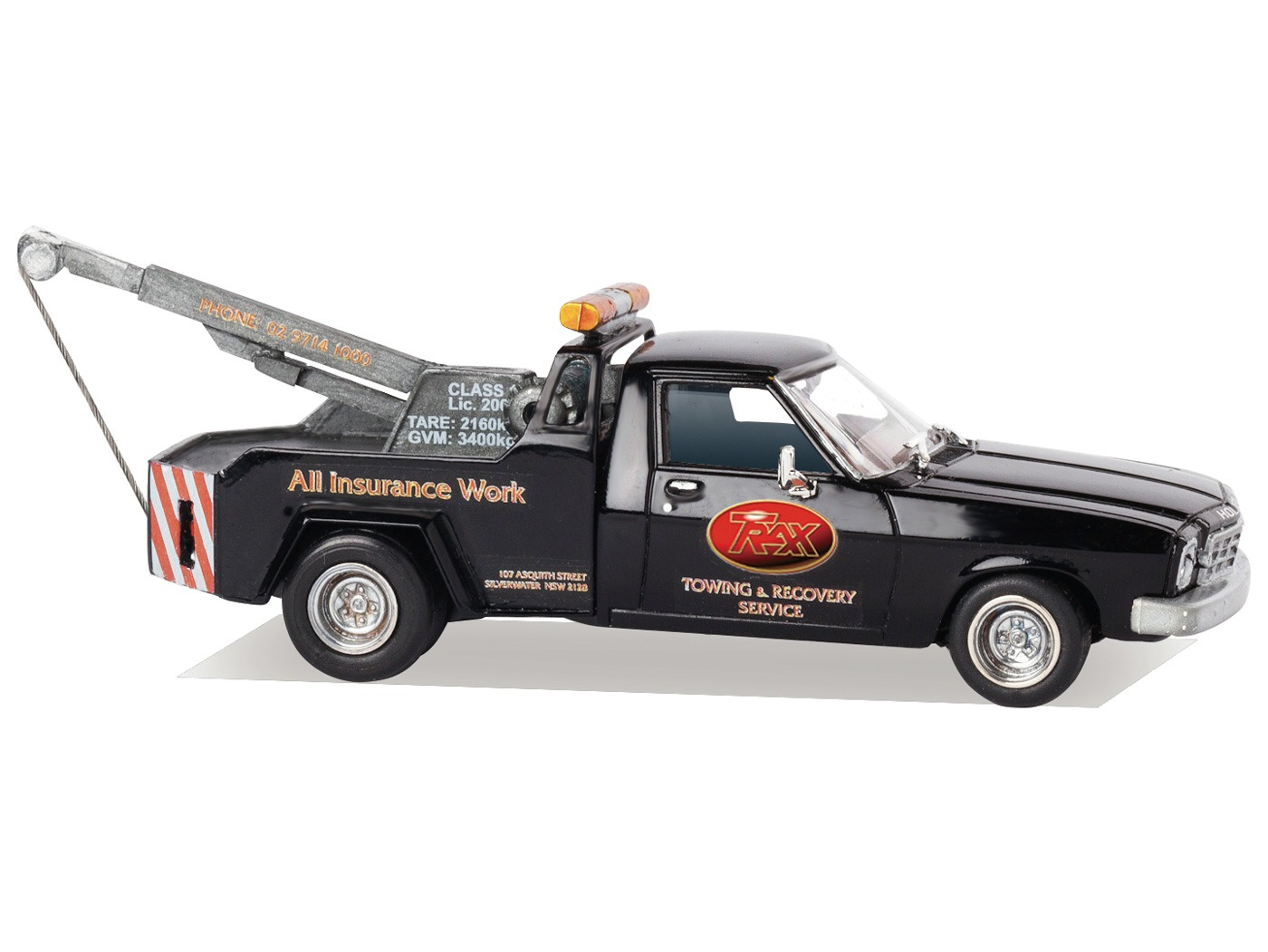 HJ Tow Truck Scale Model