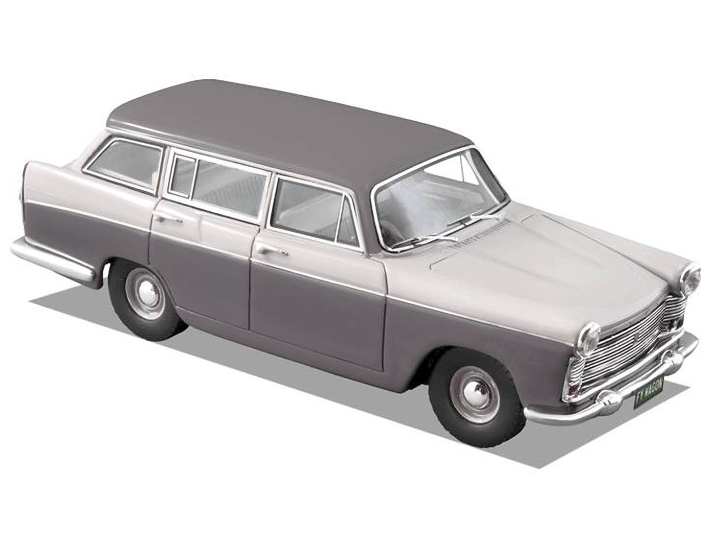 1962 Austin Freeway Wagon – Ash Grey / Rose Taupe