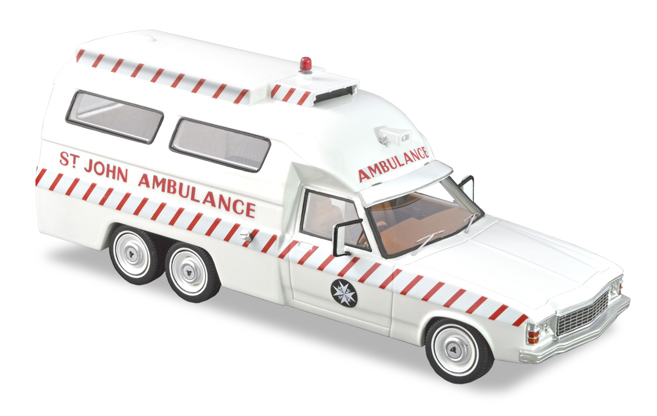 HJ 6 Wheel Ambulance – White