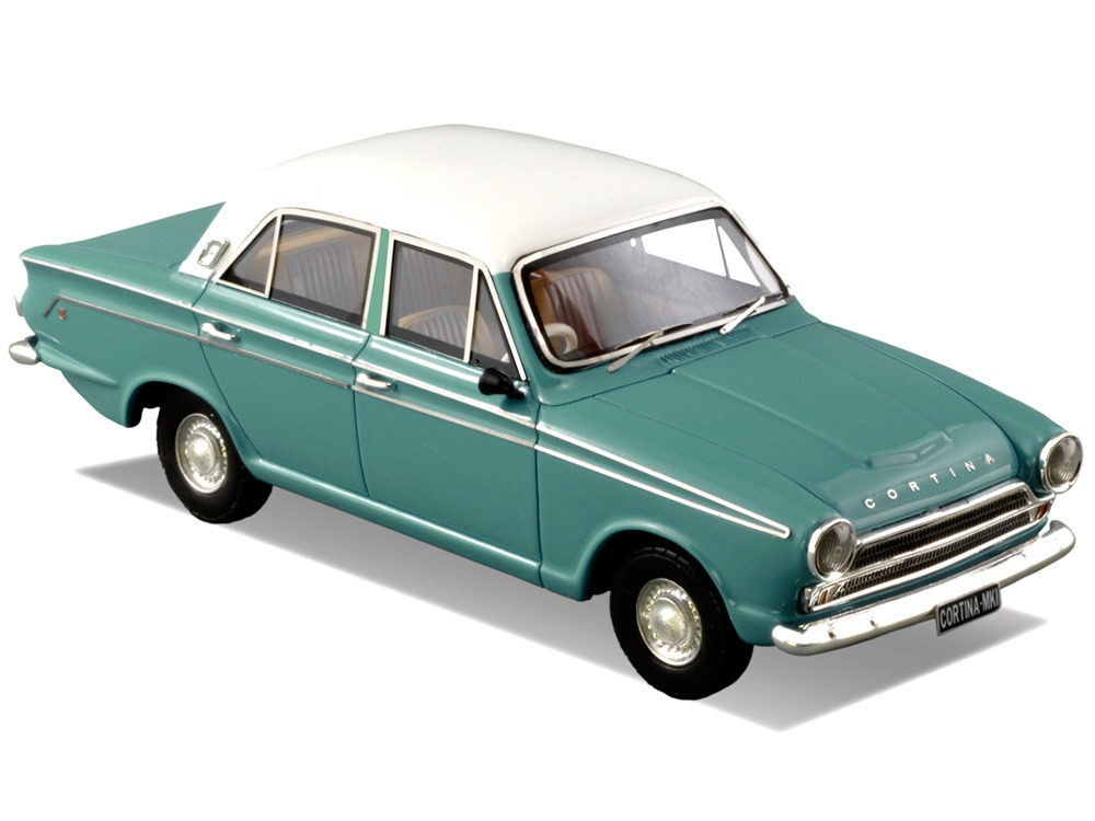Ford Cortina MK1 – Velvet Green