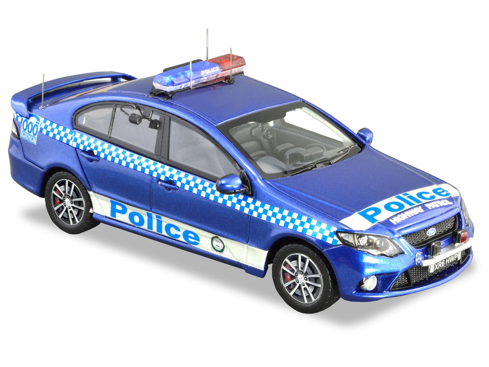 Ford FG XR6 Turbo Highway Patrol – Kinetic