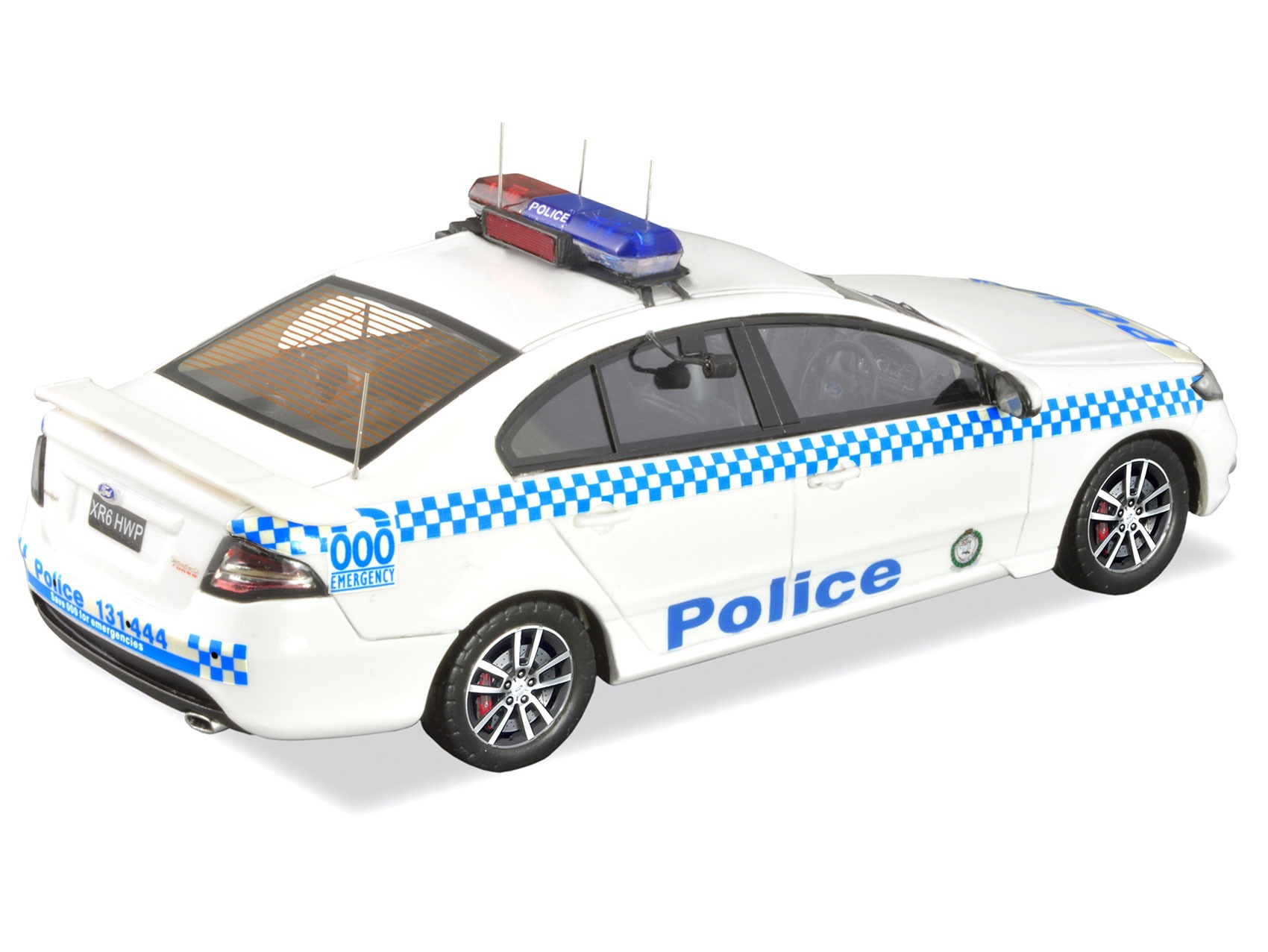 Ford FG XR6 Turbo Highway Patrol – White