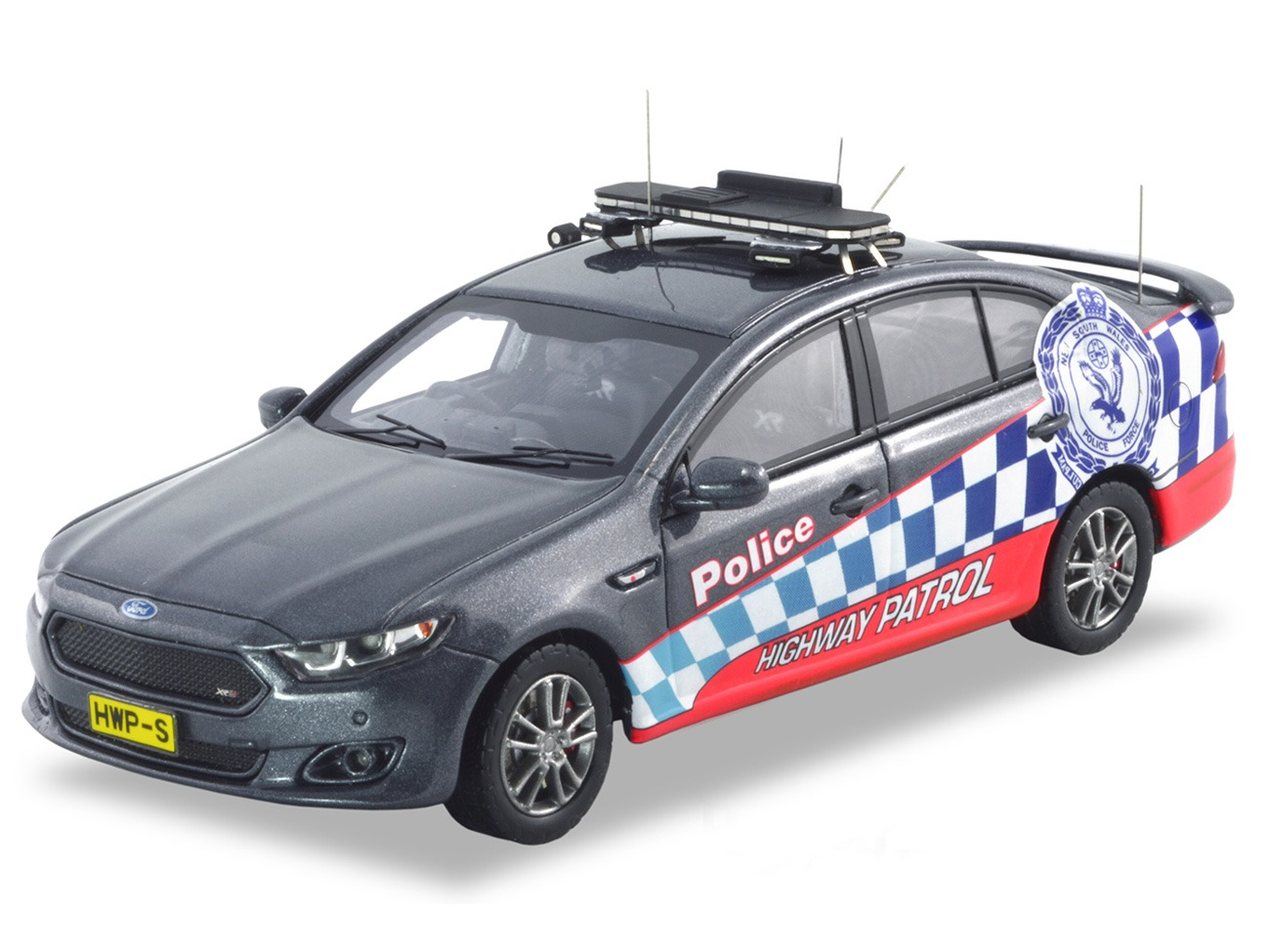 Ford FGX XR6 Turbo Highway Patrol – Grey
