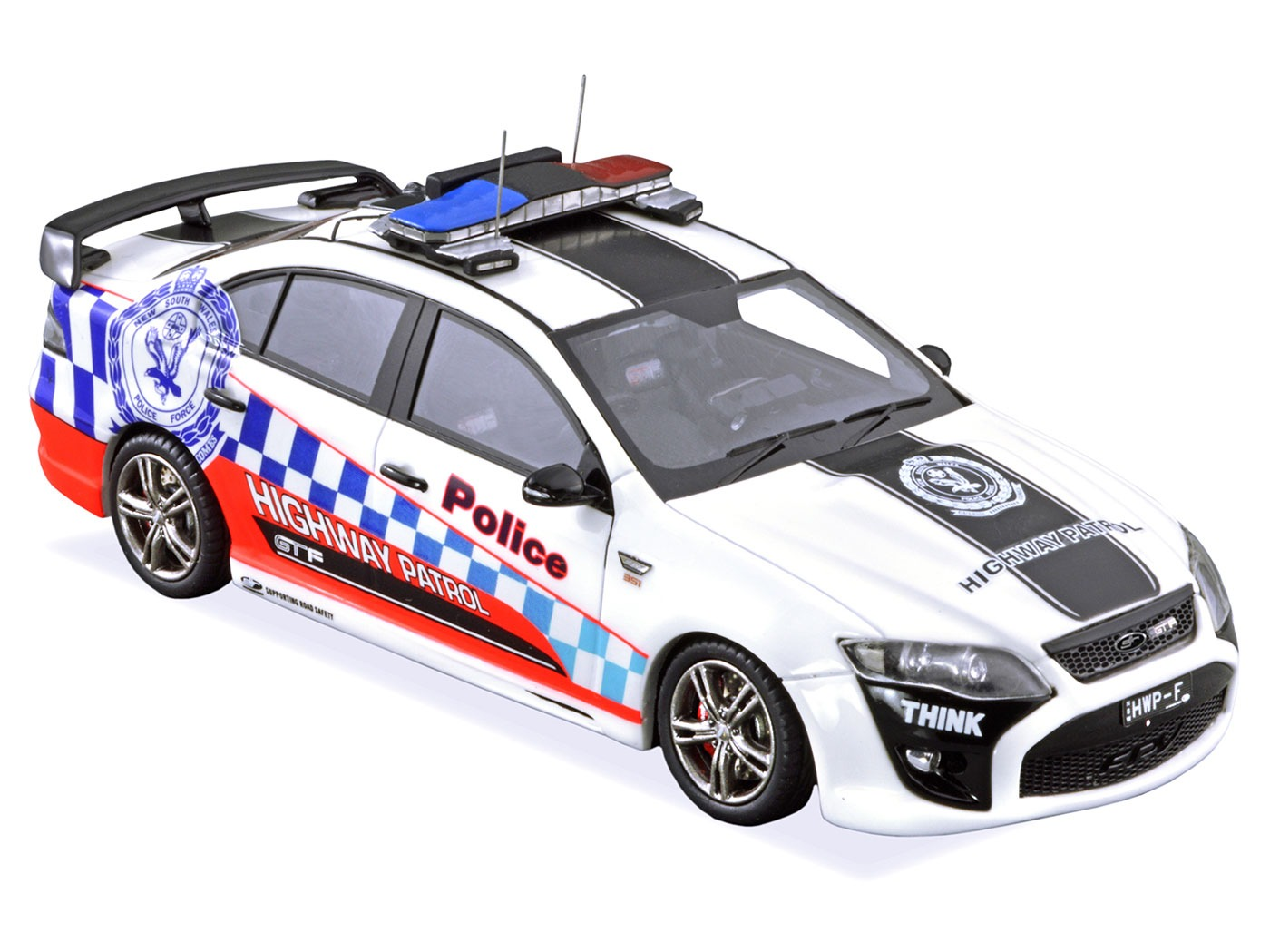 Ford FPV GTF Highway Patrol – White