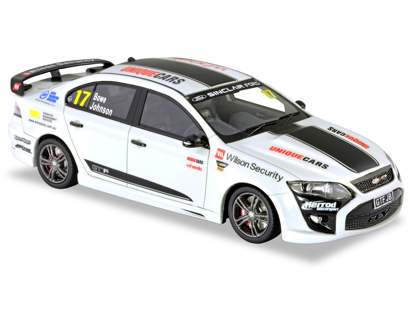 "Final FPV GTF – Winter White- John Bowe ""Target 300"""