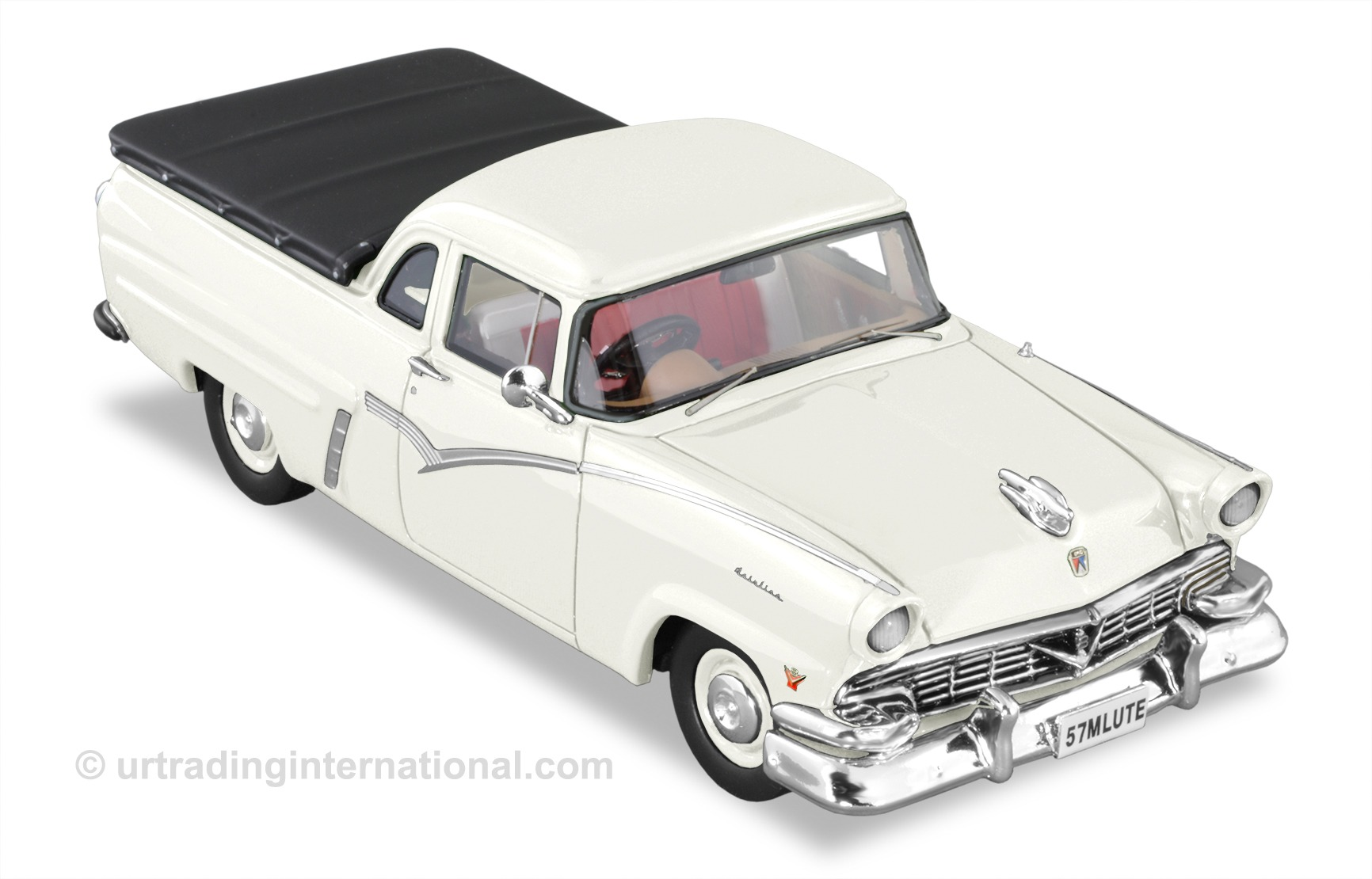 1957 Mainline Ute – White