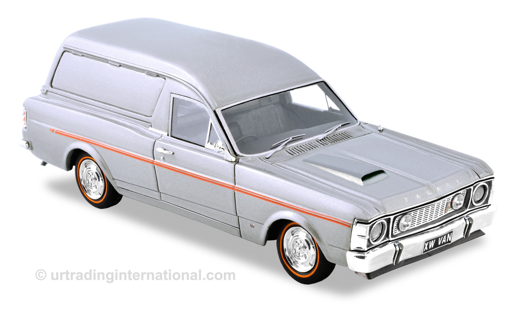 1970 XW GS Falcon Panel Van – Silver Fox