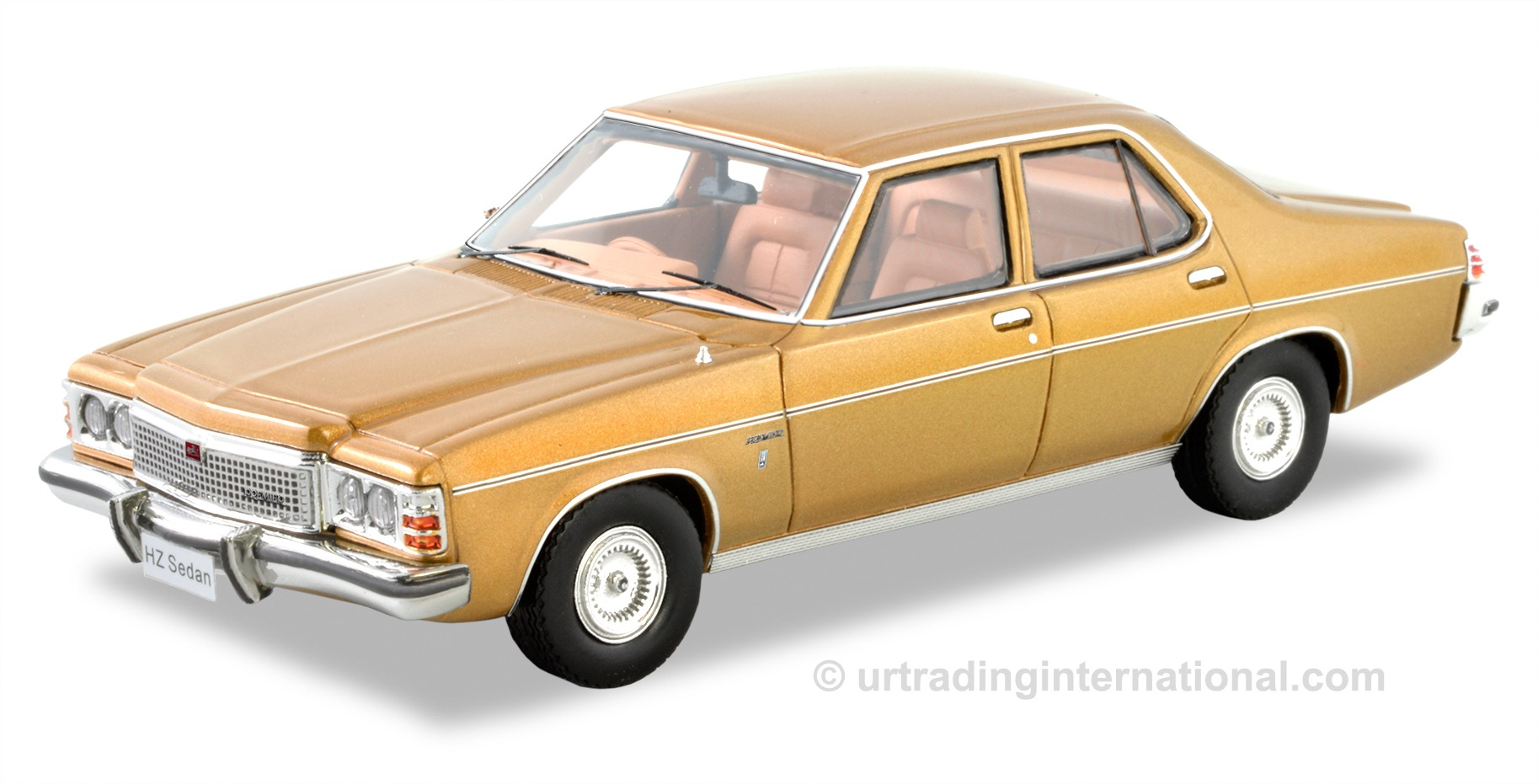1977 Holden HZ Premier Sedan – Dynasty Gold