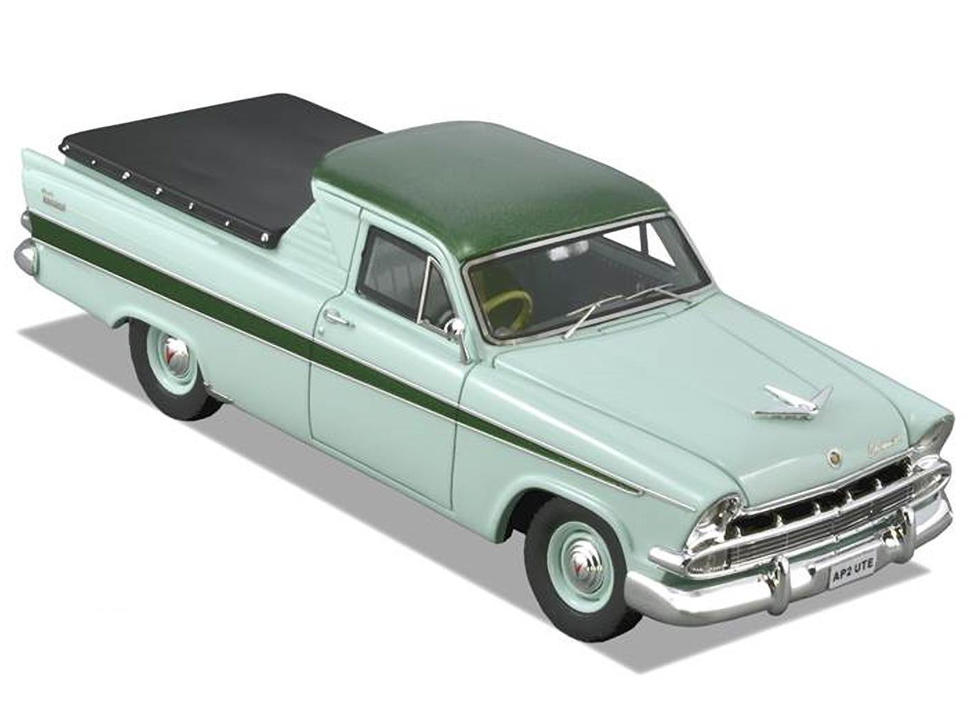 Chrysler AP2 Ute – Dark Green / Light Green