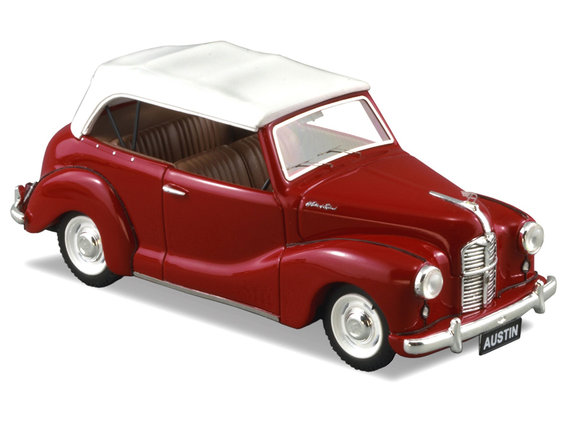 Austin A40 Soft Top – Red