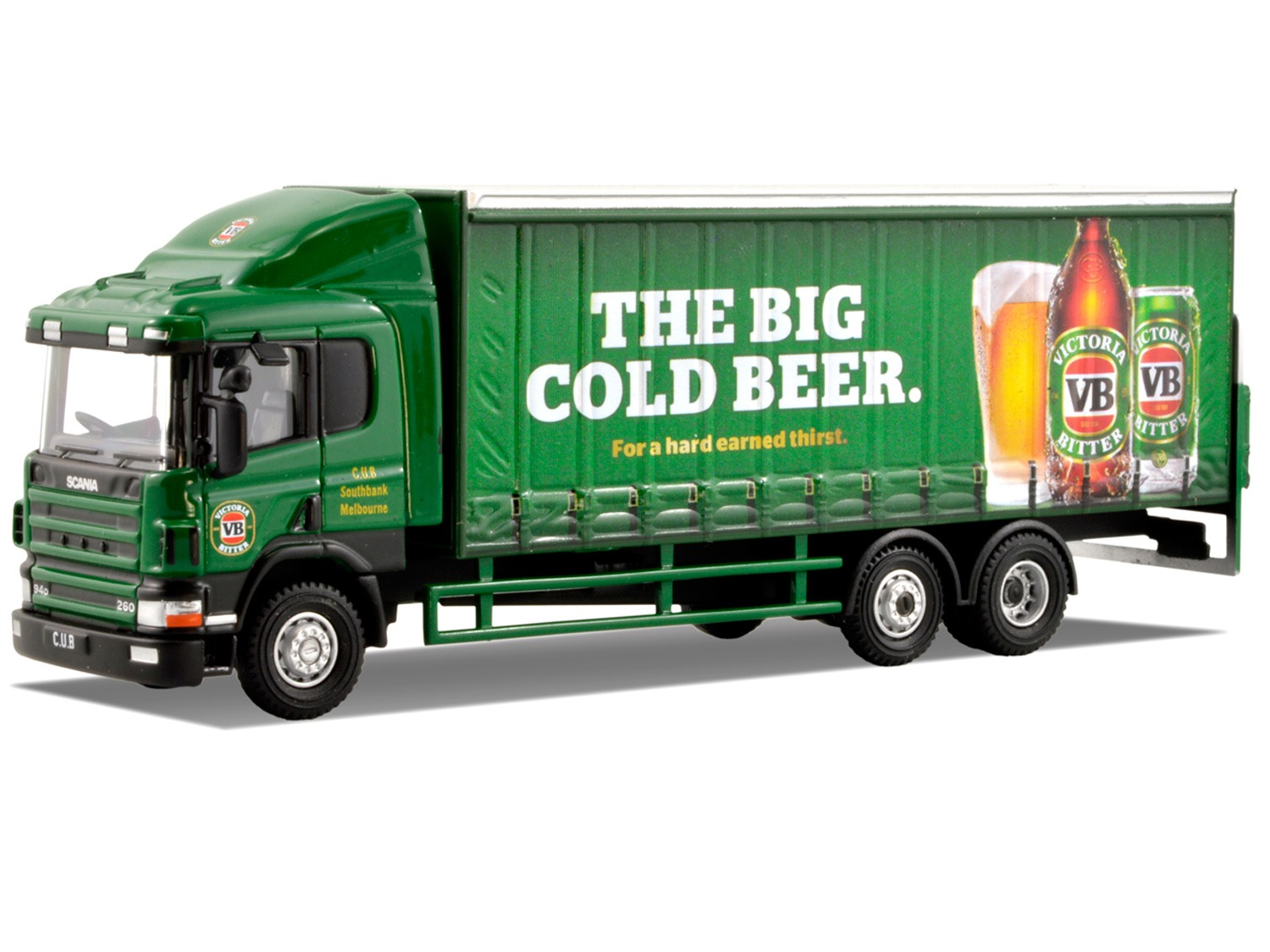 Scania Truck – VB Beer – Green