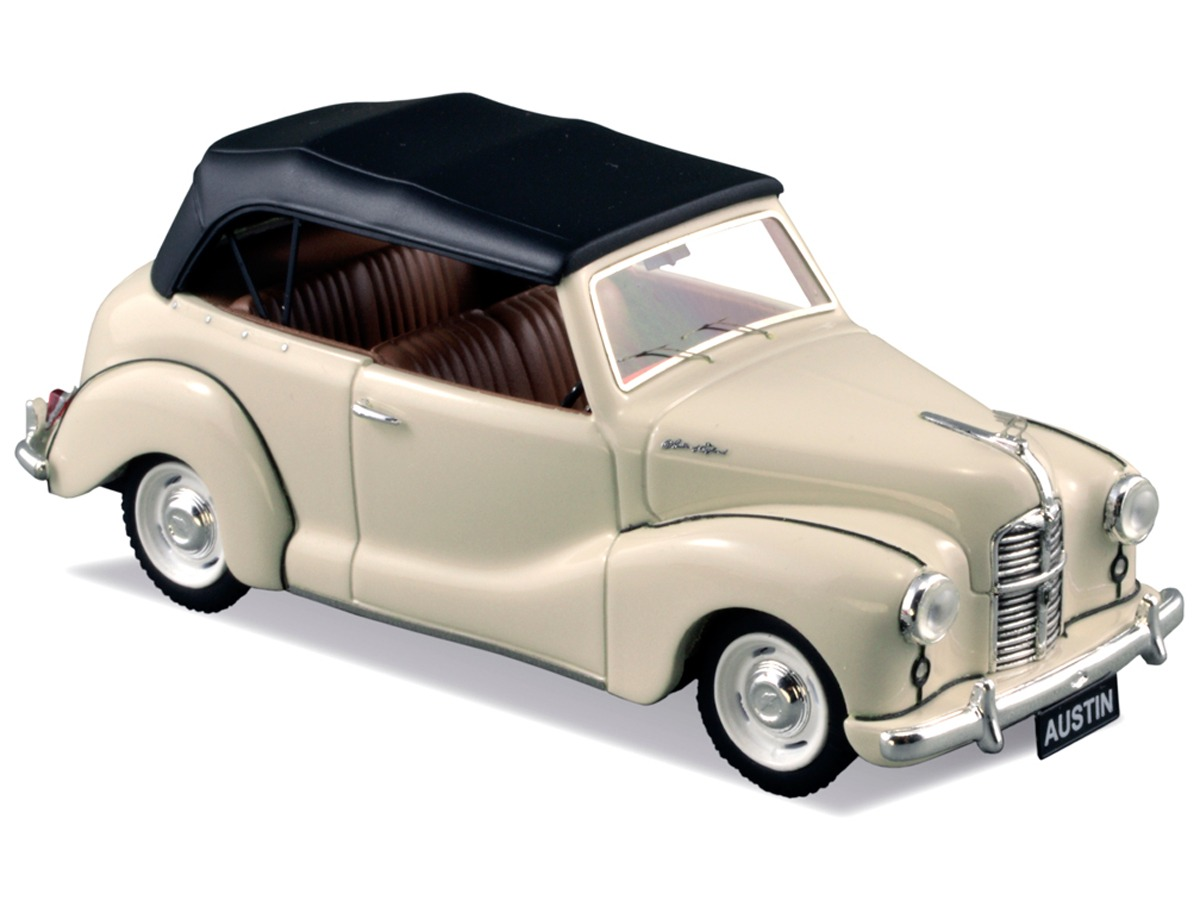 Austin A40 Soft Top – Oyster White