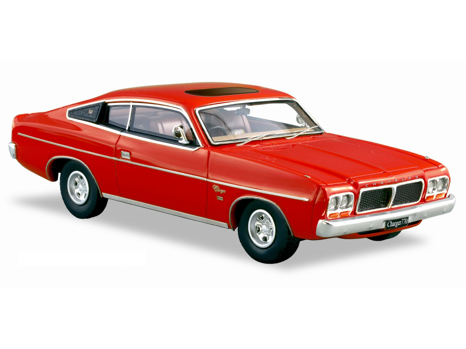 1976 CL Valiant Charger 770 – Red