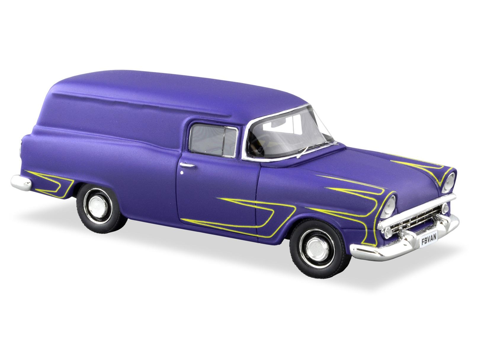 1960 FB Panel Van – Purple With Speed Stripes