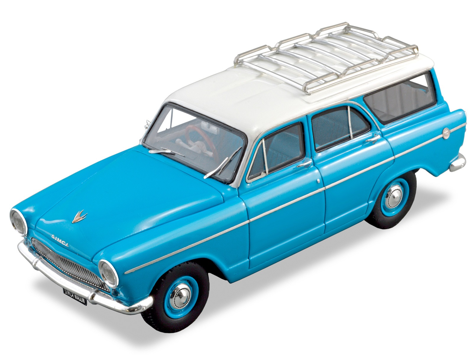 Simca Aronde Wagon – Blue / White