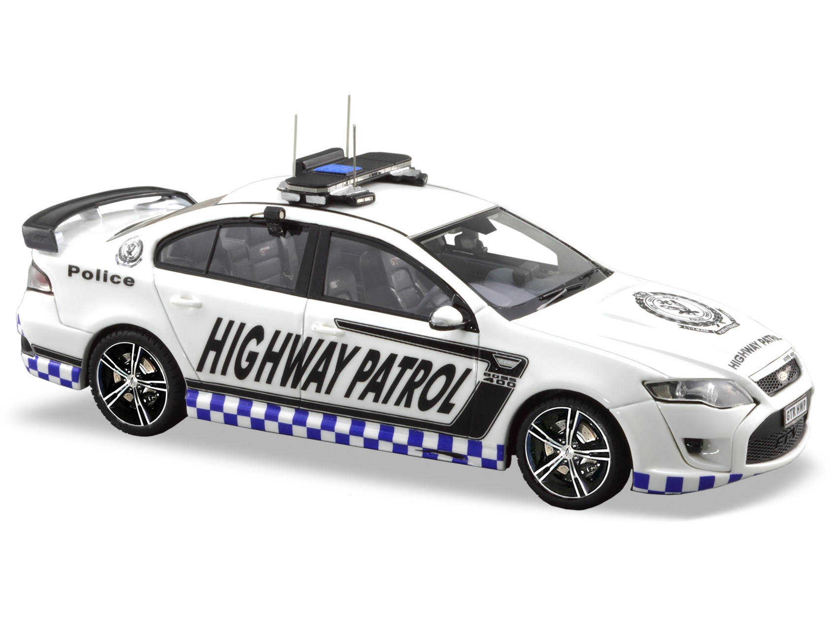 2012 FPV GT RSPEC NSW Highway Patrol – White