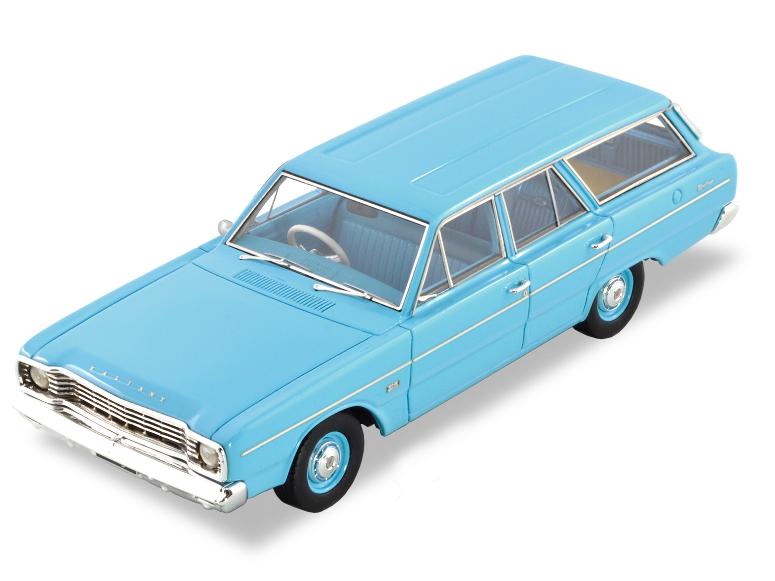1967 VE Valiant Safari Station Wagon – Light Blue
