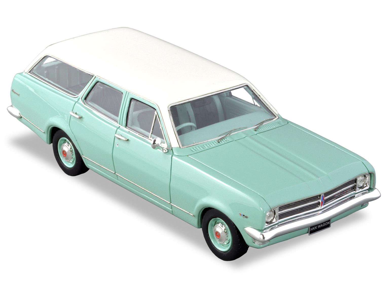 1969 HK Kingswood Wagon – Martin Turquoise / Kashmir White