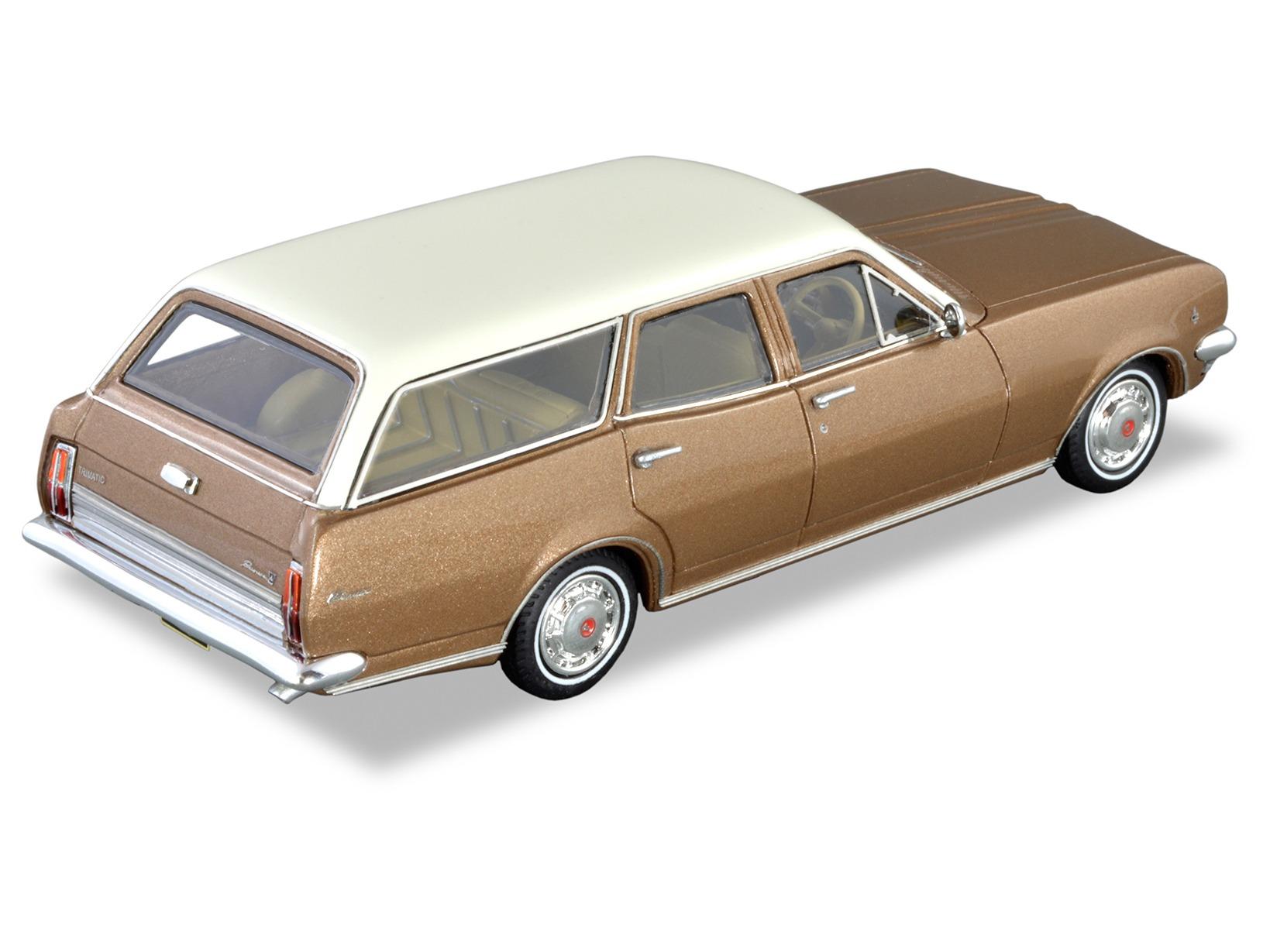 1970 HG Premier Wagon  – Cameo Gold / Kashmir White