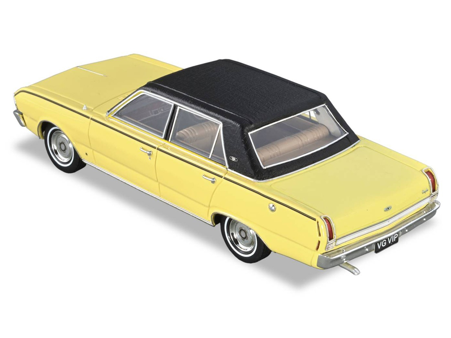 1970 Chrysler VG VIP – Yellow / Black Roof