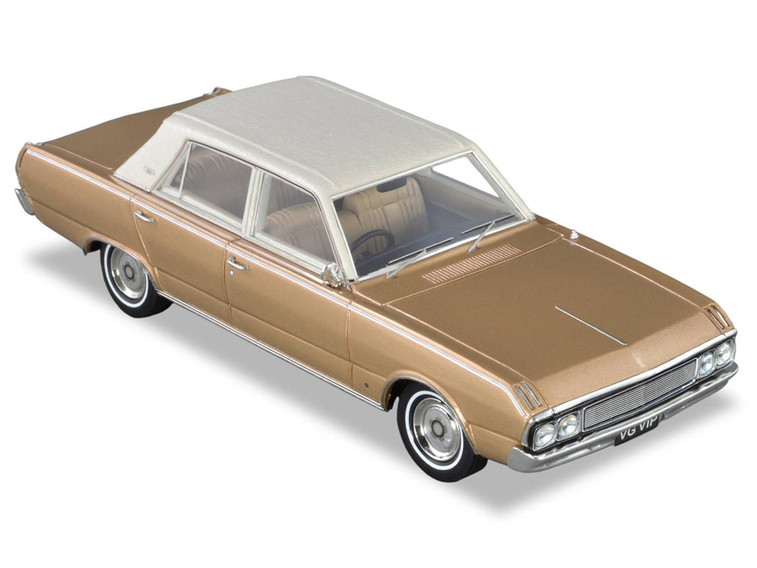 1970 Chrysler VG VIP – Gold / Cream Roof