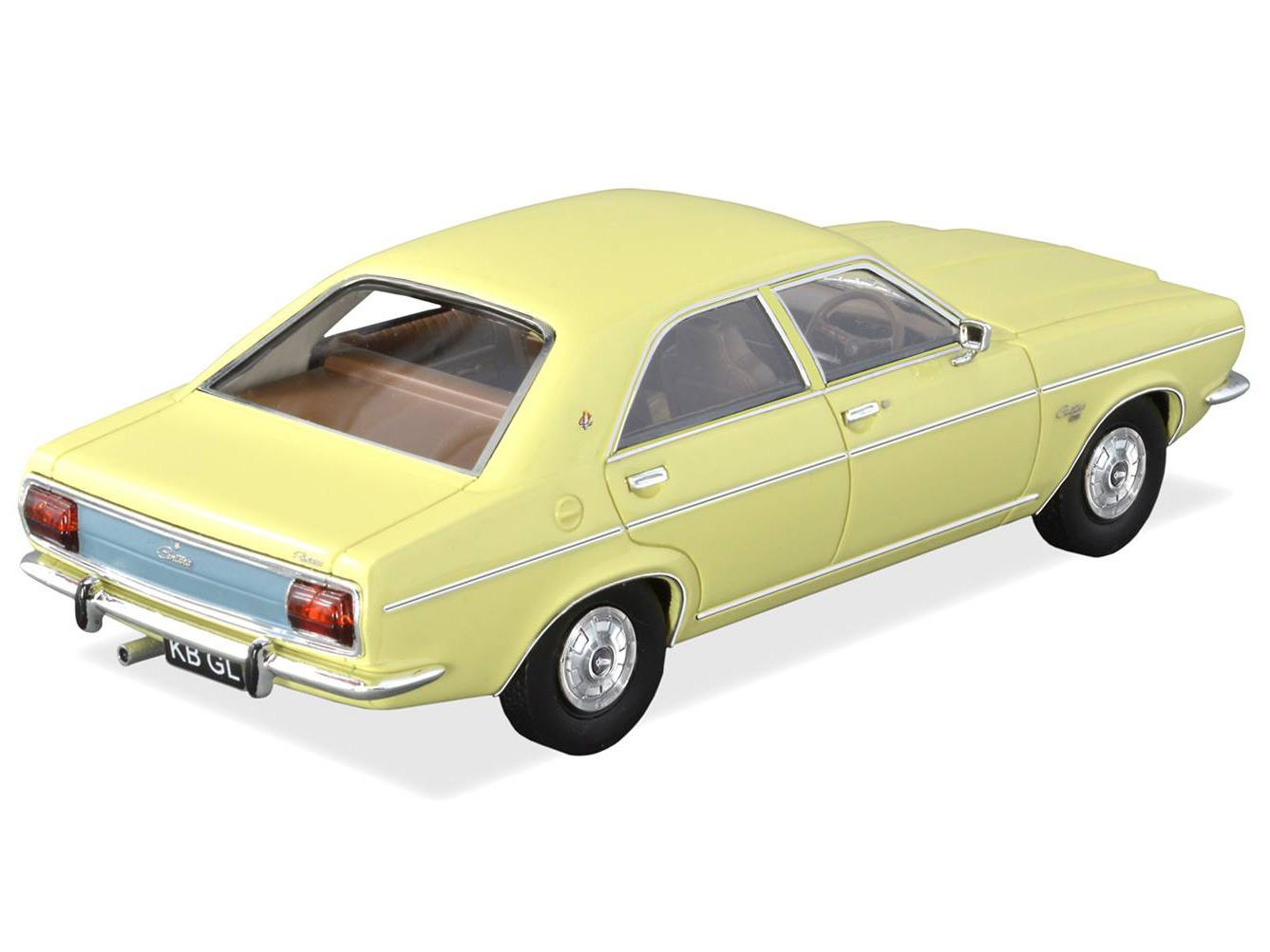 1976 KB Chrysler Centura GL – Yellow