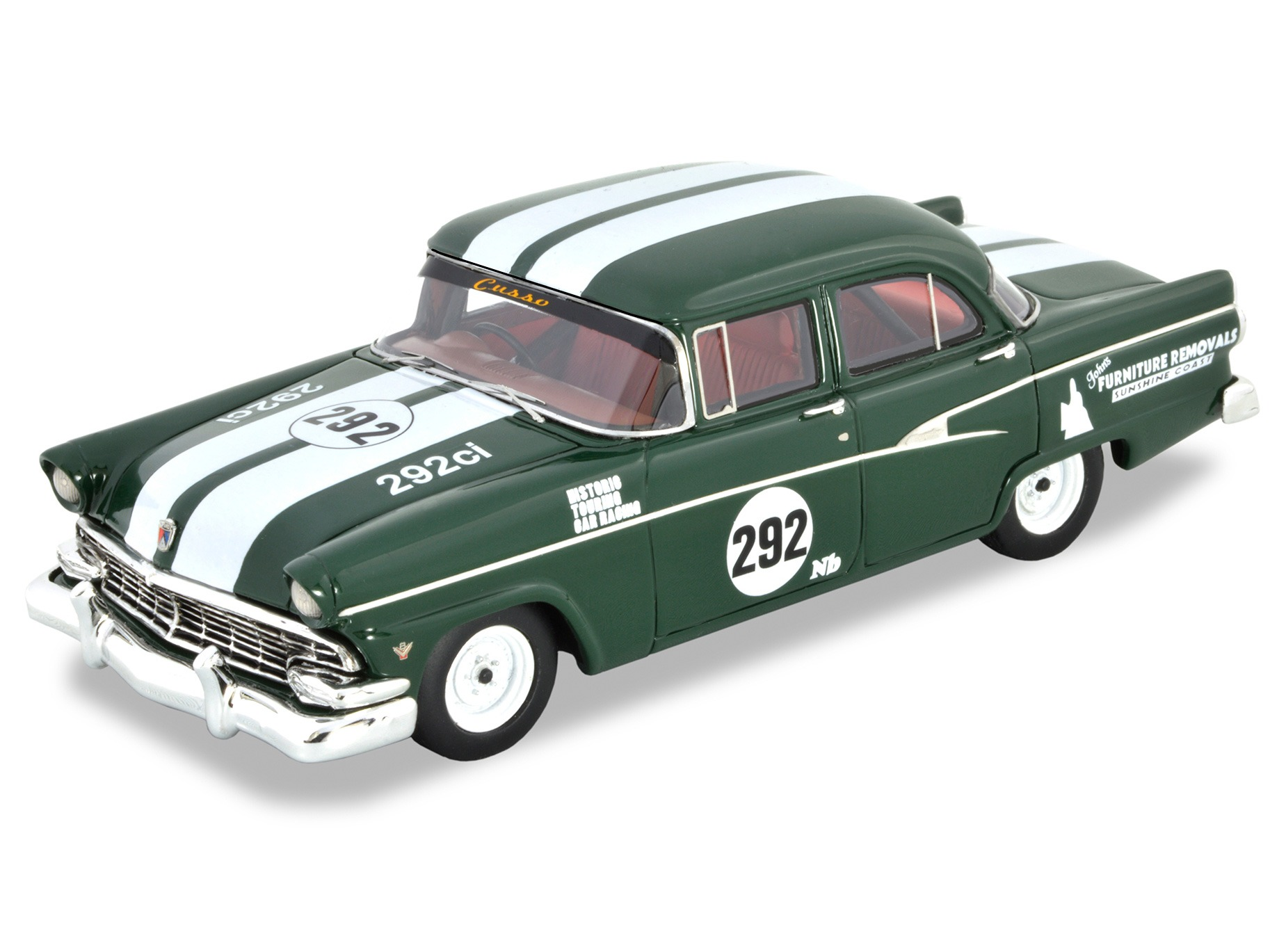 1956 Ford Customline Racing Car – British Racing Green