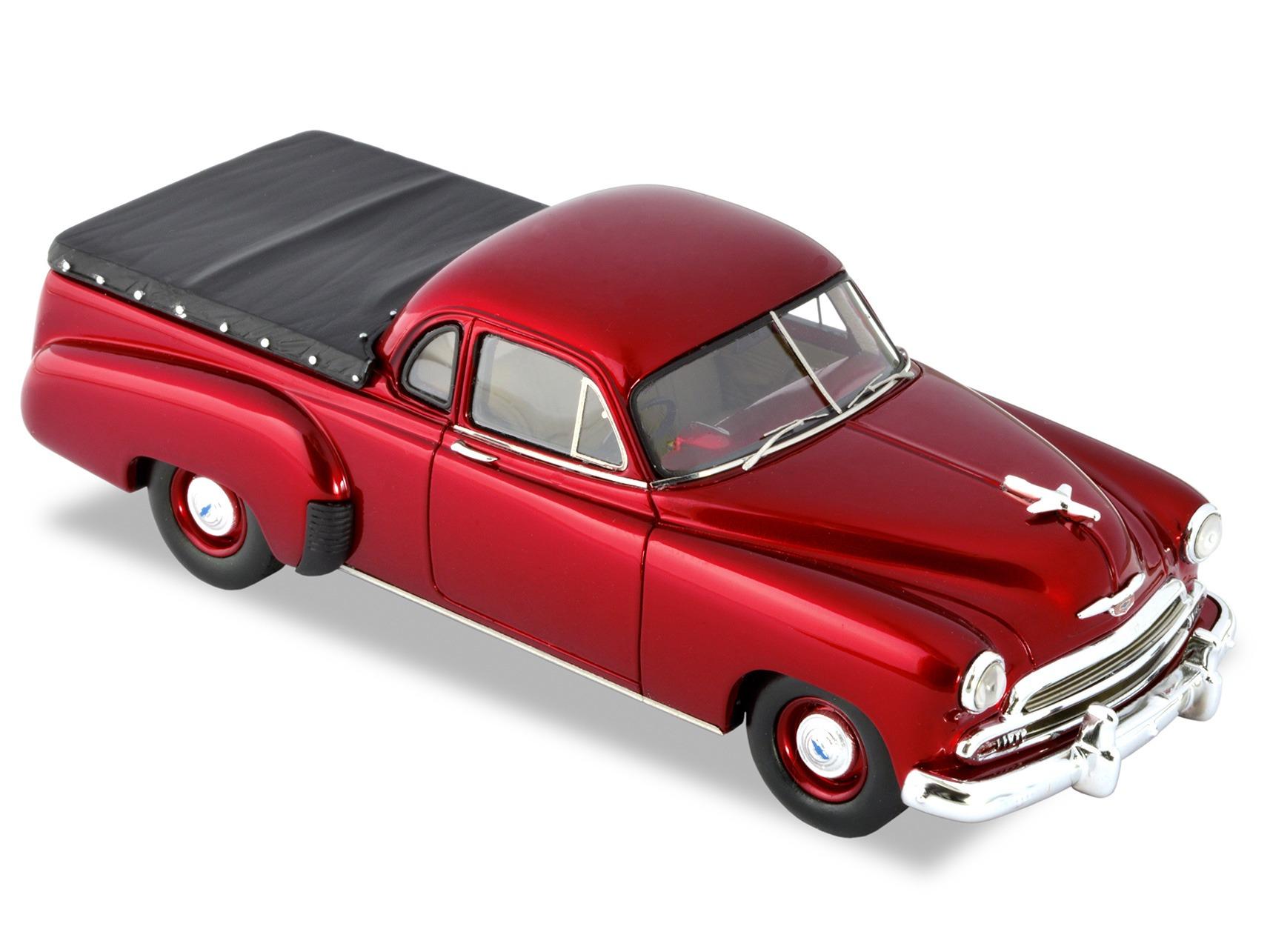 1951 Chevrolet Ute – Burgundy Red