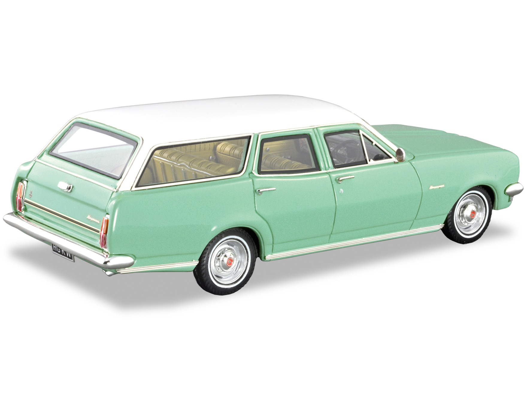1970 HG Kingswood Wagon – Cascade Green / Kashmir White
