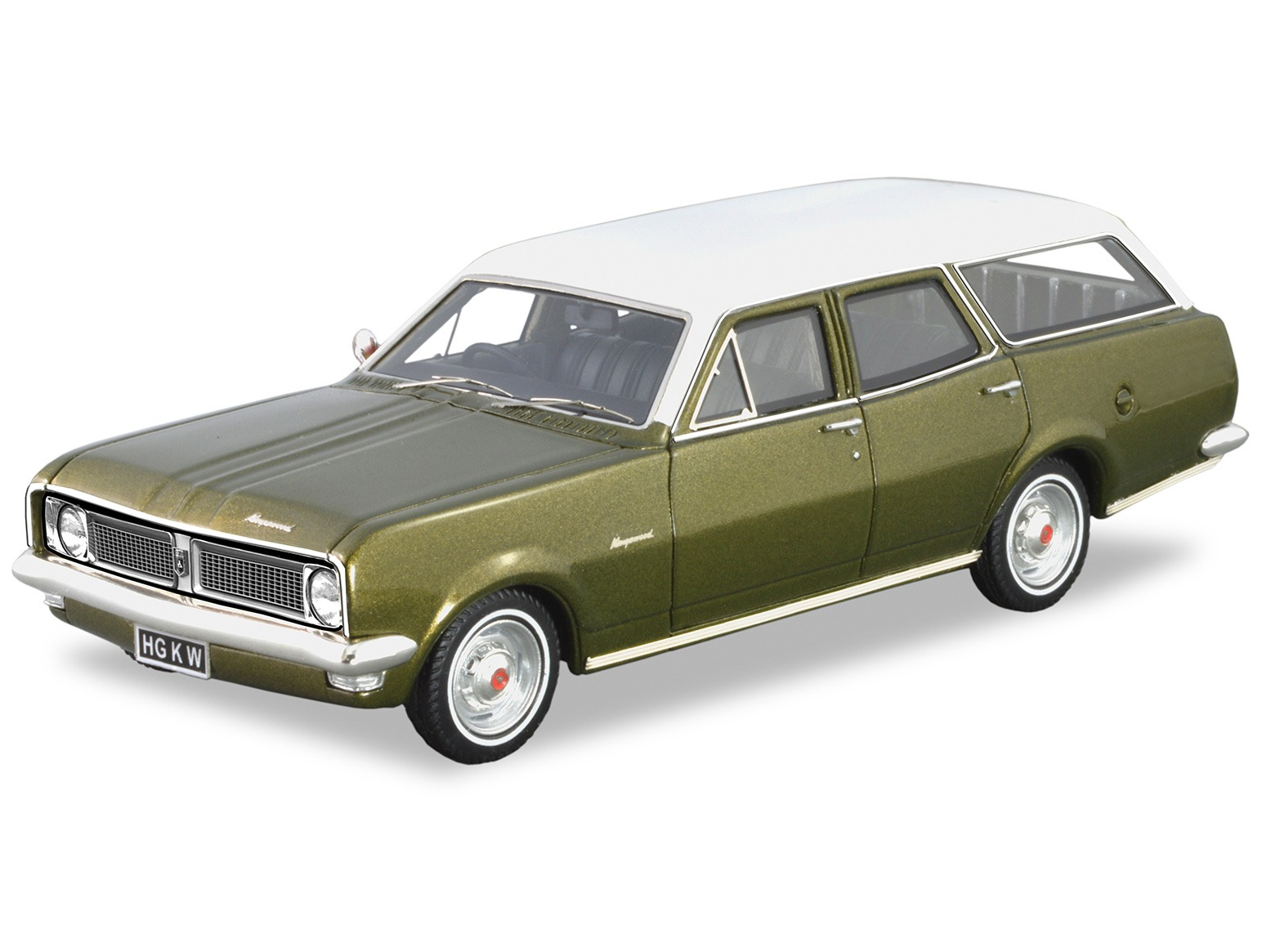 1970 HG Kingswood Wagon – Verdoro Green Metallic / Kashmir White