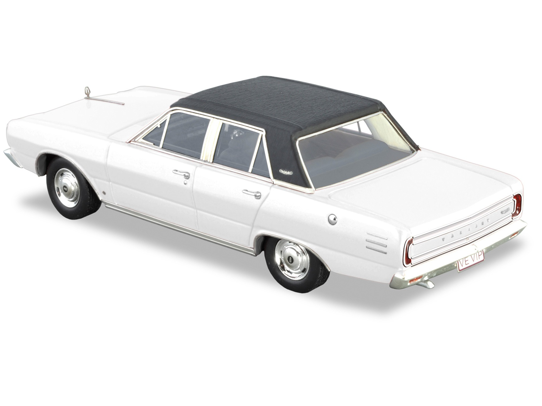 1968 Valiant VE VIP – Alpine White