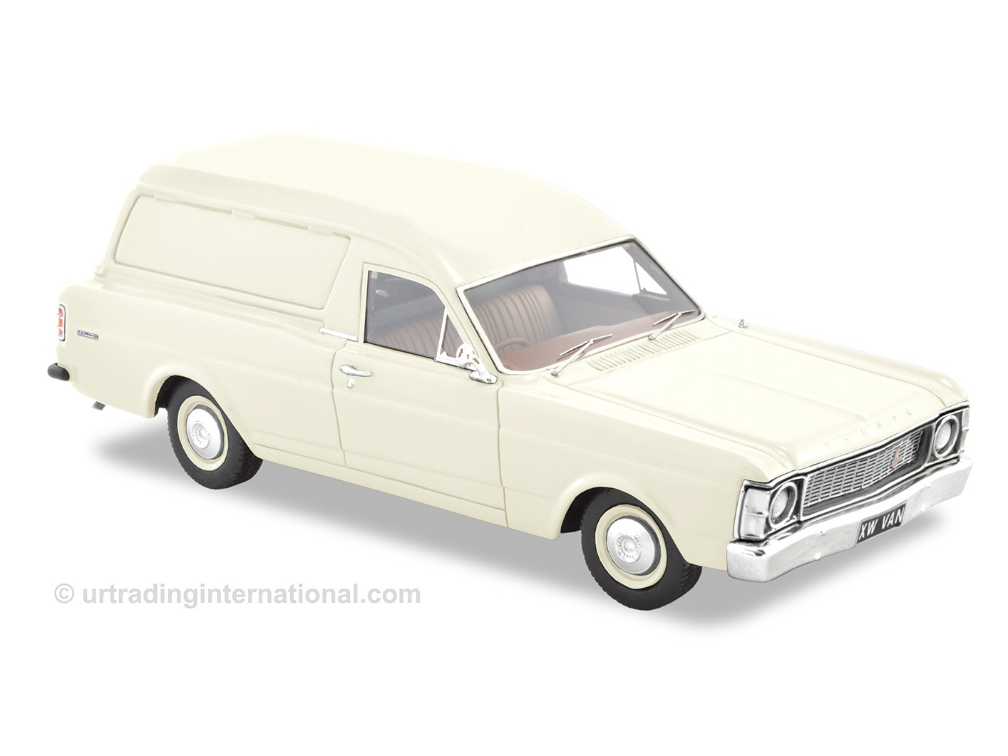 1970 XW Falcon Panel Van – Polar White