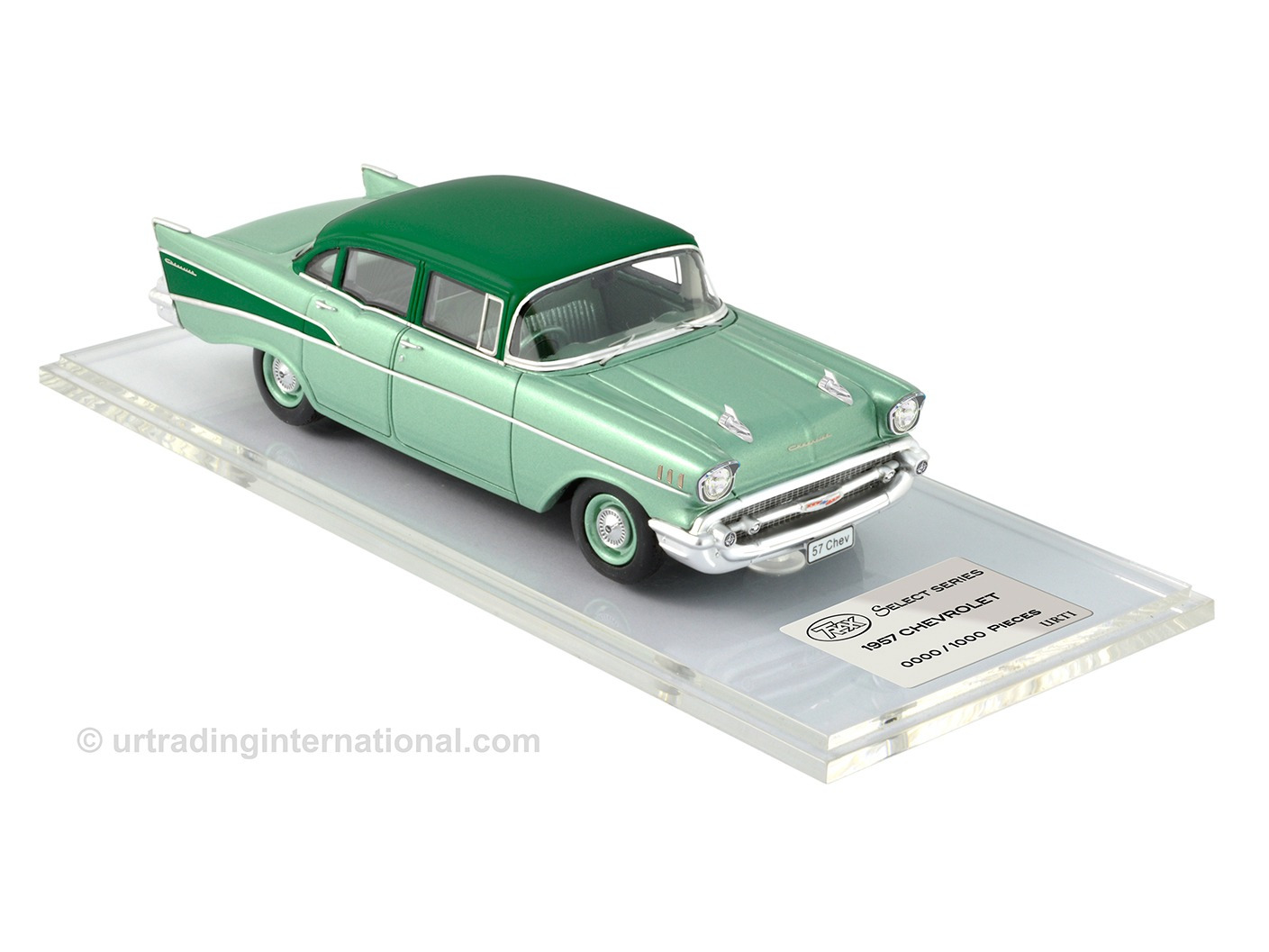 1957 Chevrolet – Surf Green / Highland Green