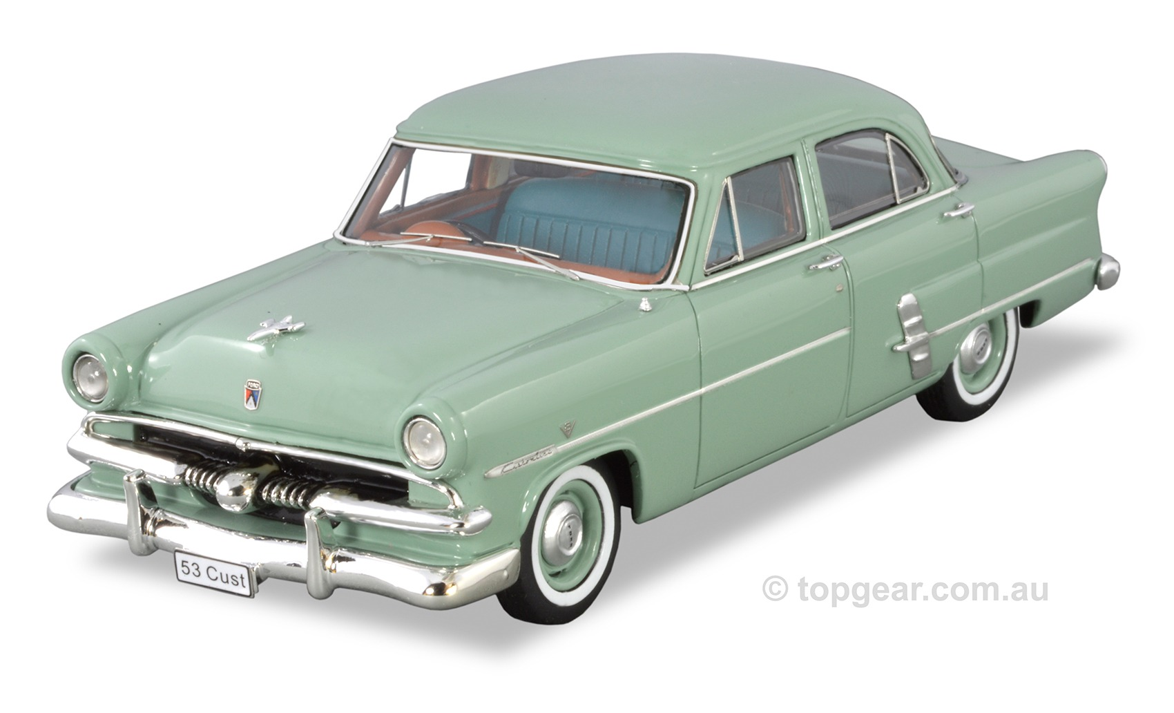 1953 Customline Sedan – Seafoam Green