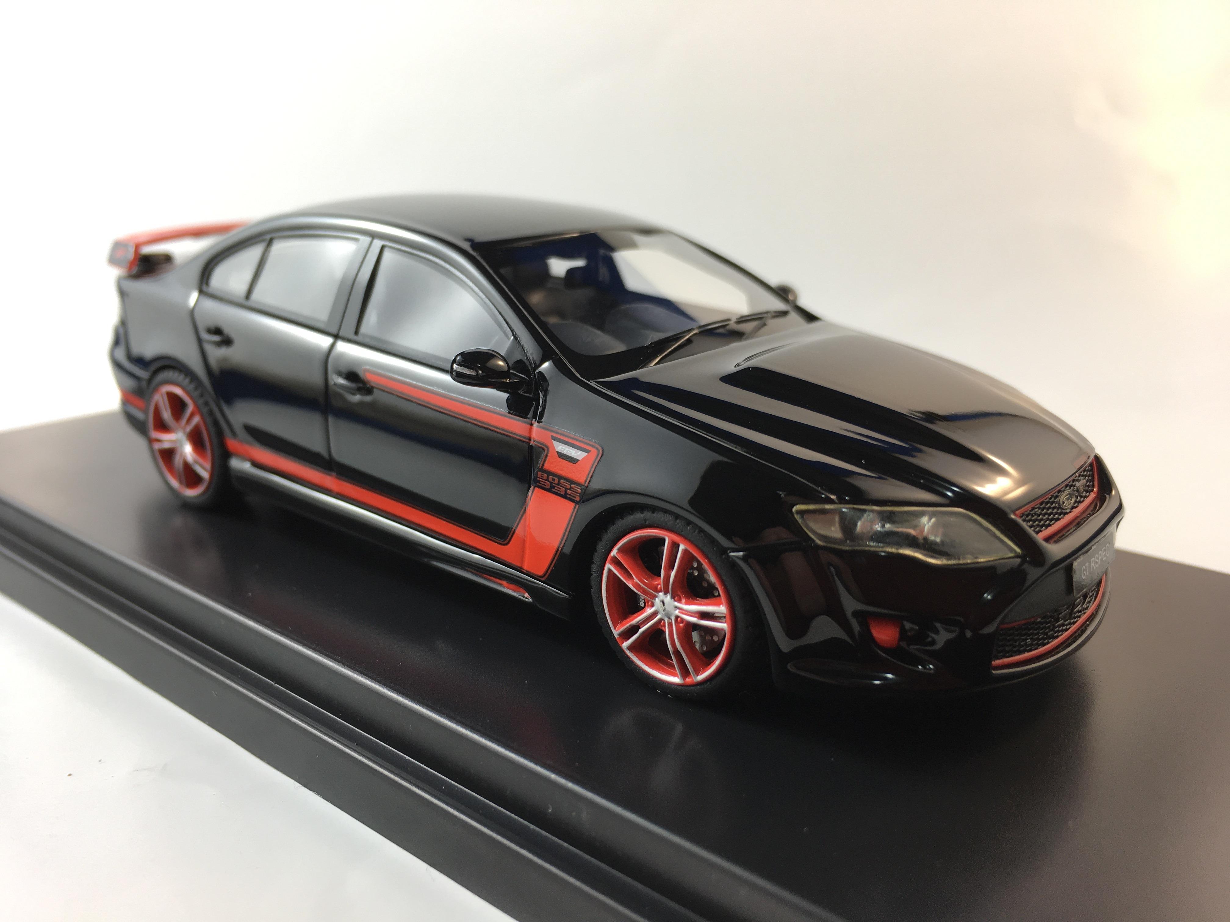 2012 FPV GT RSPEC – Black