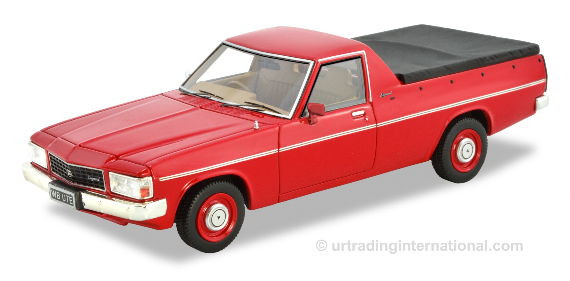 1980-84 WB Ute – Red