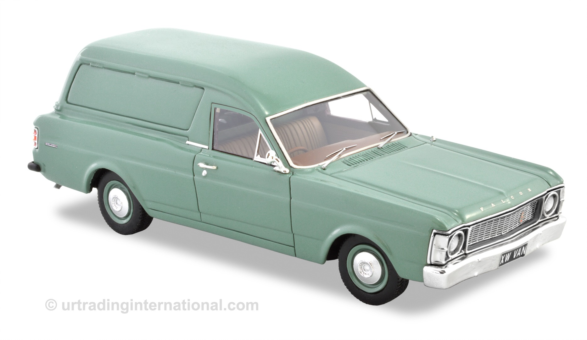 1970 XW Falcon Panel Van – Leaf Green