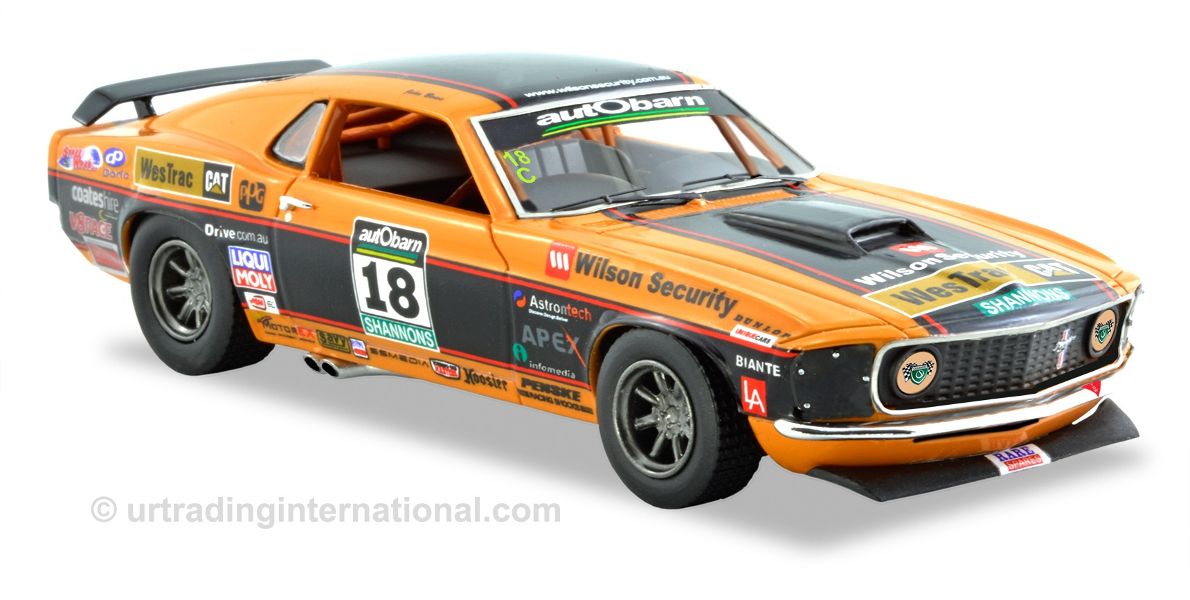1969 Ford Mustang – Touring Car Masters – John Bowe – Orange