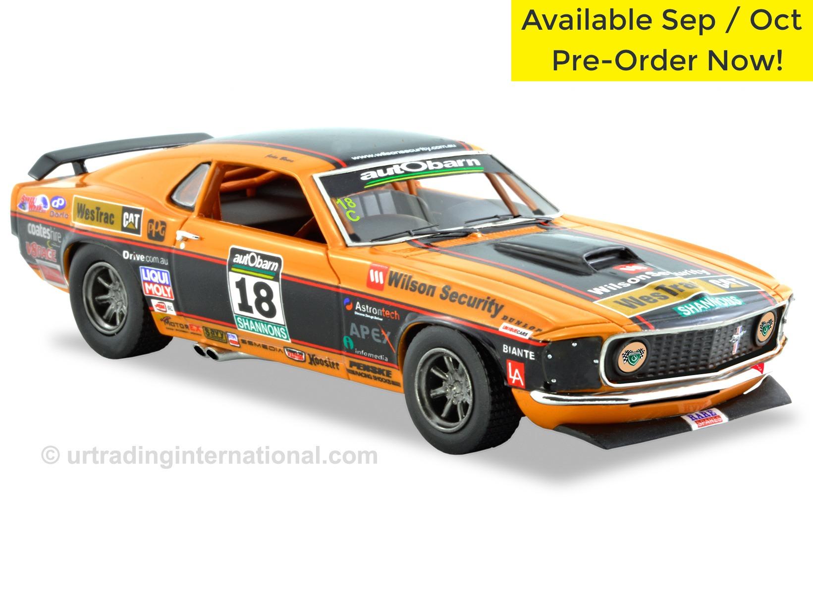 1969 Ford Mustang – Touring Car Masters – John Bowe – Orange