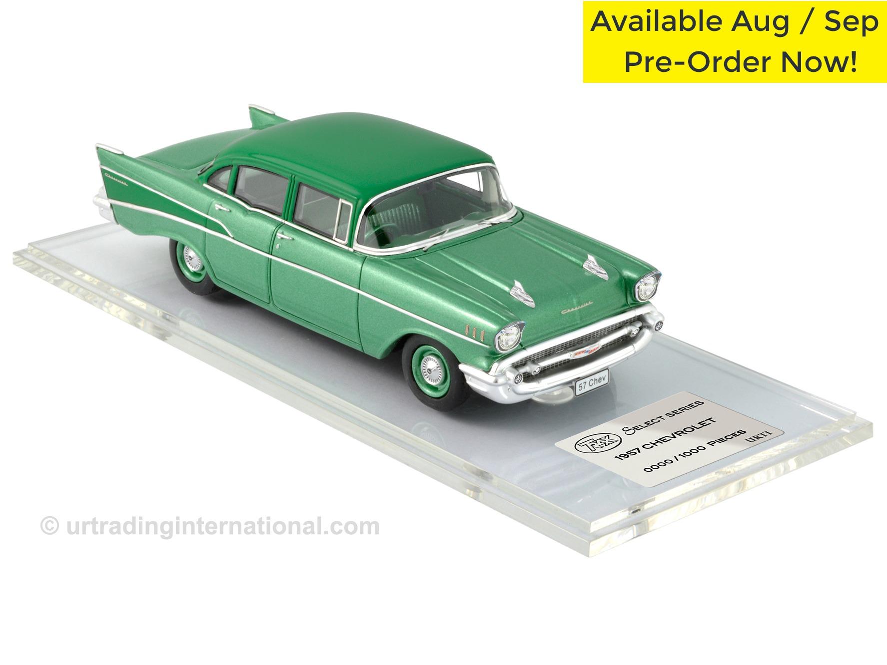 1957 Chevrolet – Surf Green / Highland Green