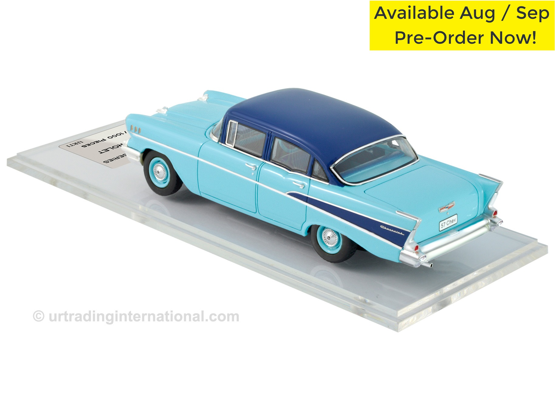 1958 Chevrolet – Larkspur Blue / Harbor Blue Metallic