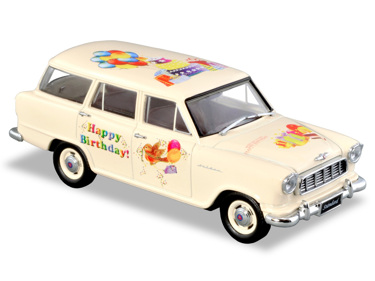 BC18 Birthday Model: FE Standard Station Wagon – Cream