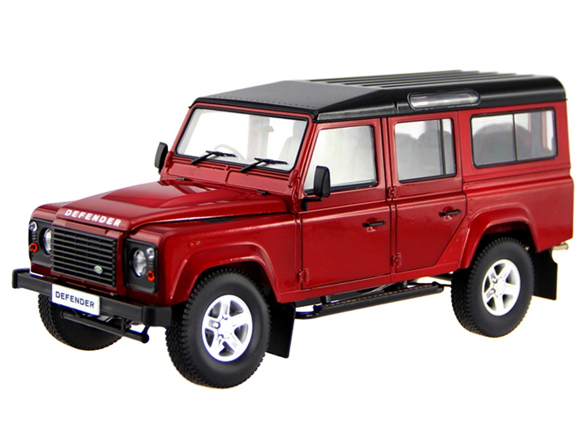 Land Rover Defender – Red