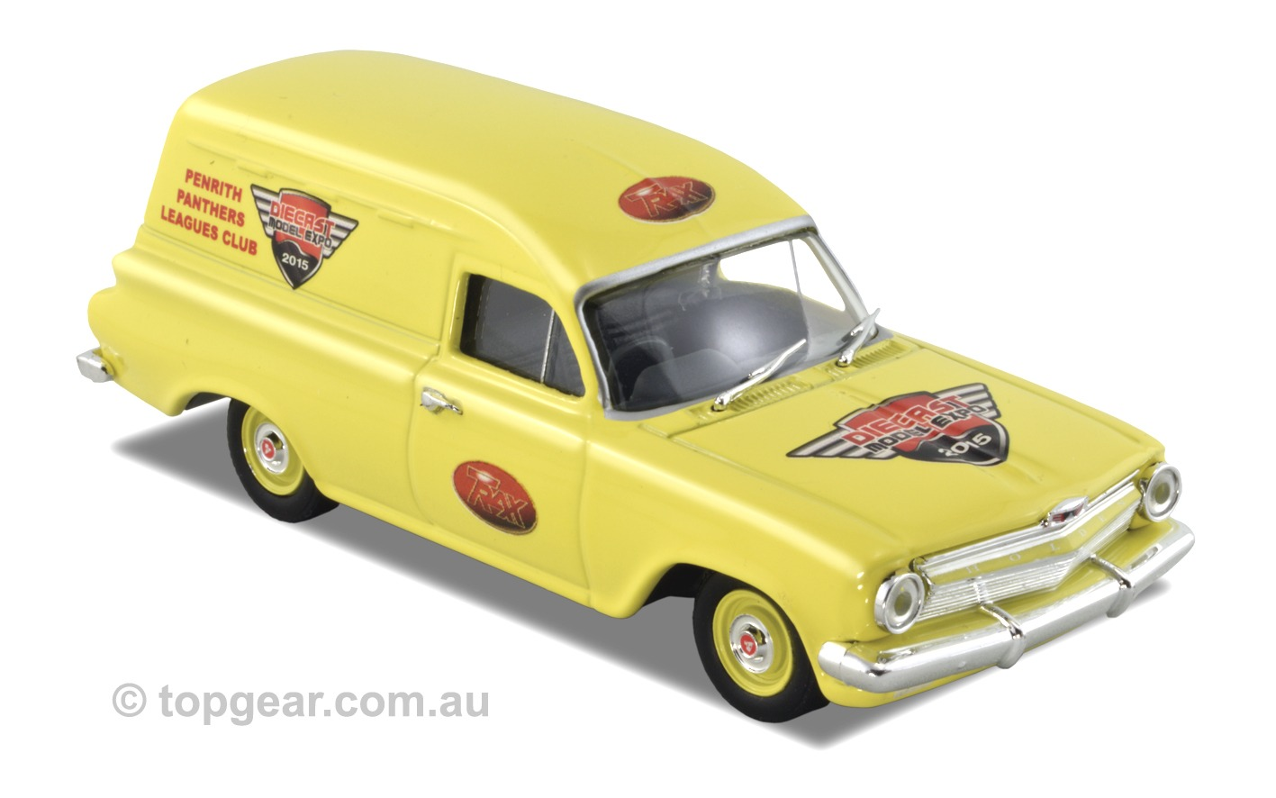 EJ Panel Van – Yellow / 2015 Diecast Expo Models