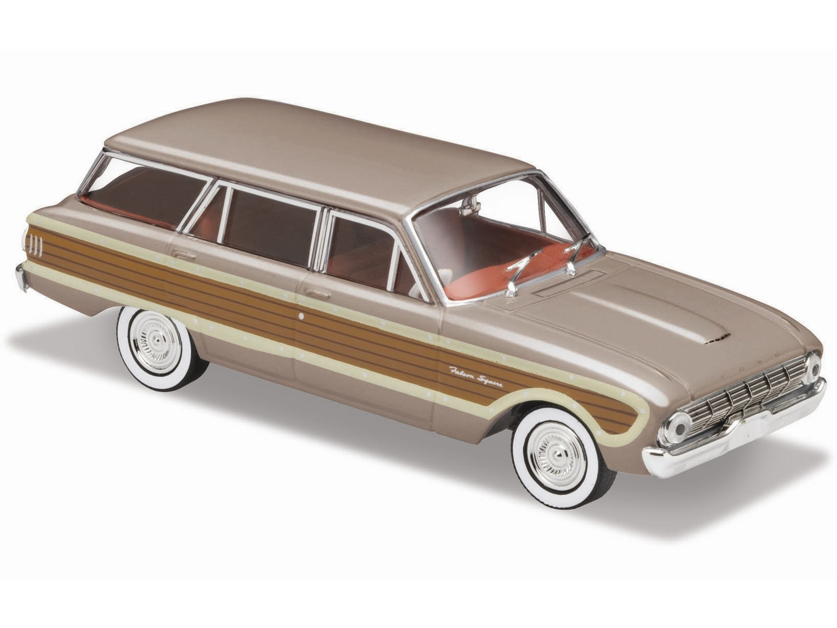 1962 Ford XL Falcon Squire Wagon – Grey / Wood Panels