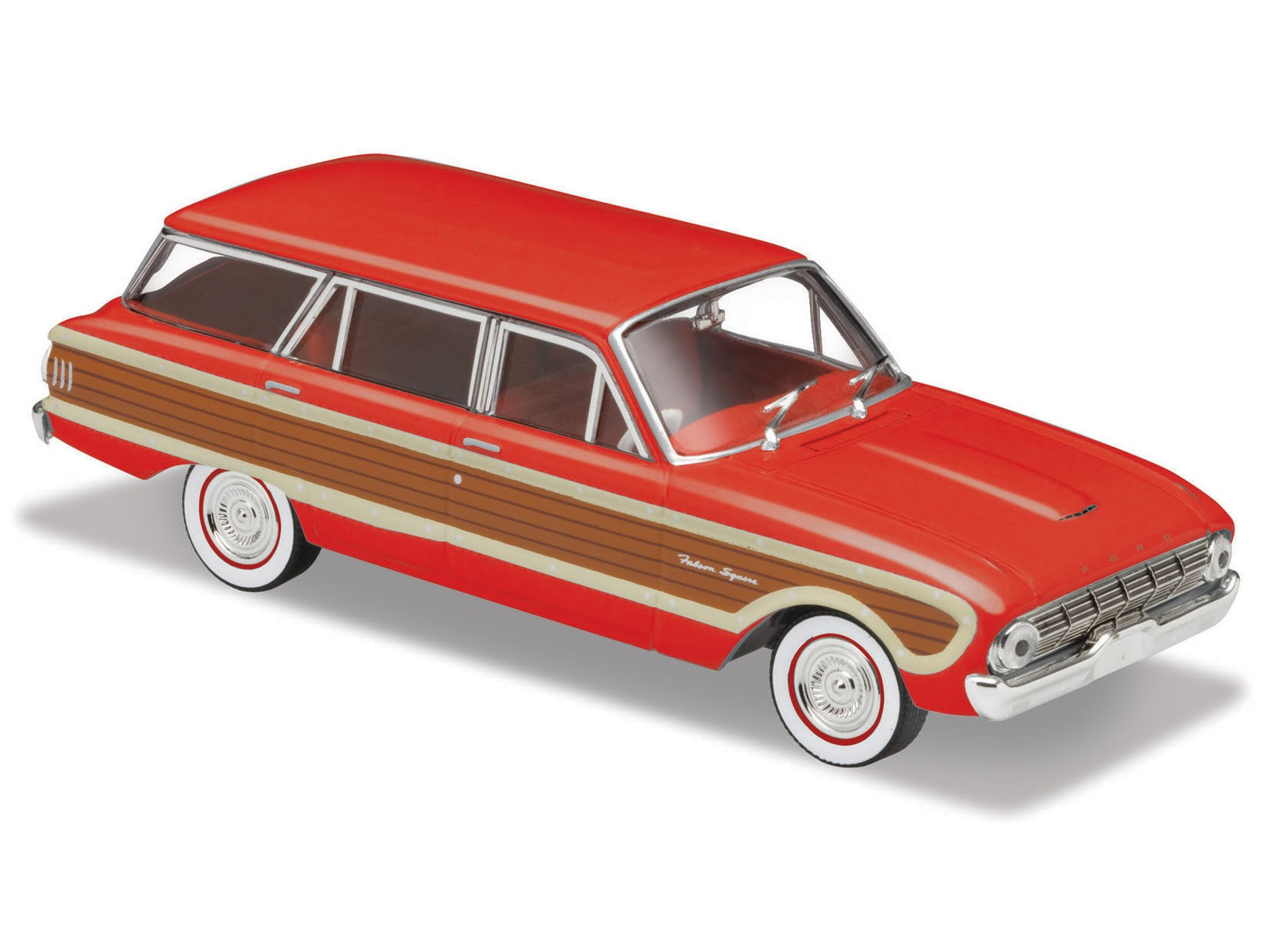 1962 Ford XL Falcon Squire Wagon – Red Woody
