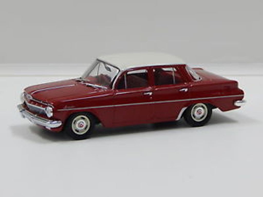 1962 Holden EJ Sedan – Namatjira Red Special Ivory Roof