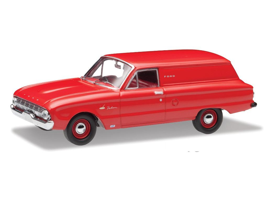 1962 Ford XL Falcon Van – Waratah Red